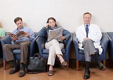 Sala de Espera Centro de Saúde