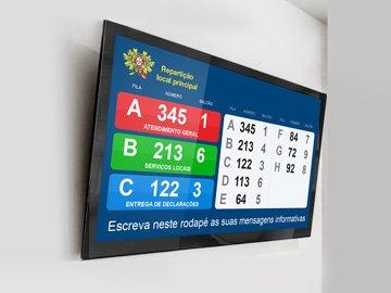 Monitor Display Serviços Publicos