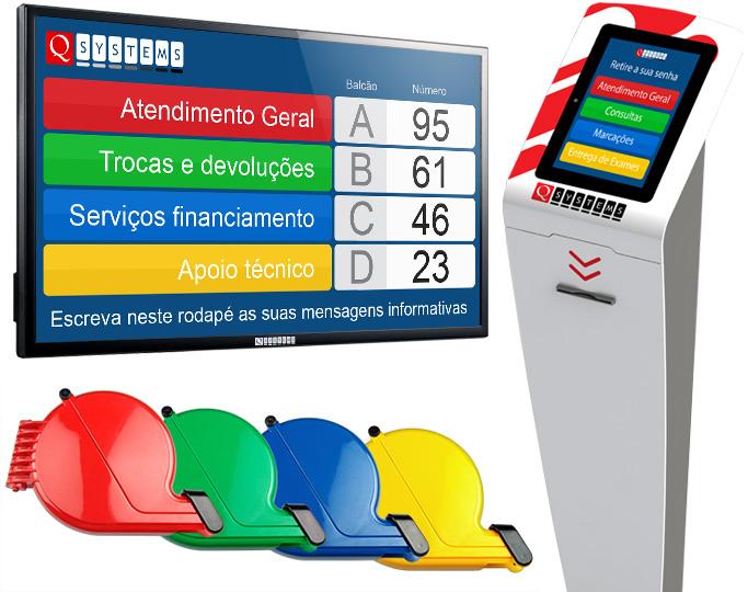 Sistema de Gestão de Filas de espera QSystems